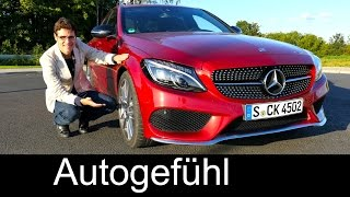 Download Mercedes C450 AMG V6 FULL REVIEW test driven C-Class C-Klasse new neu 2016 - Autogefühl Video