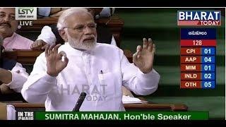 Download Lok Sabha LIVE   No-Confidence Motion in Parliament LIVE   Pm Modi Live Speech From Lok Sabha Video