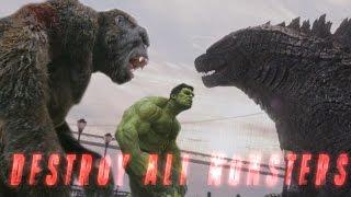 Download King Kong vs Godzilla vs Avengers Mashup - Destroy All Monsters (Fan Trailer) Video