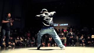 Download SHUN (Exze) vs CHU (sinario) SEMI FINAL① / DANCE@LIVE HIPHOP KANSAI CHARISMAX 2015 Video
