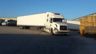 Download How to back up a semi truck. Woman truck driver backing up semi truck. Video
