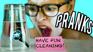 Download 11 PRANKS FOR SIBLINGS! Get your Sister + Brother! NataliesOutlet Video