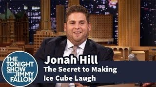 Download Jonah Hill Reveals the Secret to Making Ice Cube Laugh Video