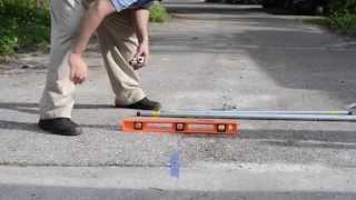Download How to Trench Under Your Driveway to Install Wires for Dual Gate Openers Video