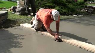 Download How to Pour Concrete Driveway Video