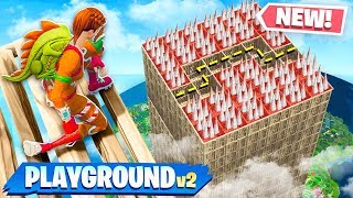 Download *NEW* DEATH MAZE GAMEMODE in FORTNITE! (PLAYGROUND MODE V2) Video