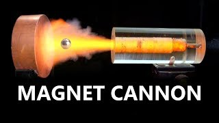 Download Electromagnetic Force Fields VS. Magnetic Cannonball Video