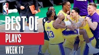 Download NBA's Best Plays | Week 17 Video
