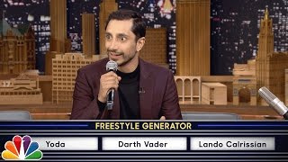 Download Riz Ahmed Freestyle Raps About Star Wars Video