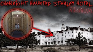 Download OverNIGHT Haunted STANLEY HOTEL (Stephen King's The SHINING) 24 HR ″EXTREME″ OVERNIGHT CHALLENGE Video