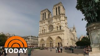 Download Inside The Race To Save The Notre Dame Cathedral | TODAY Video