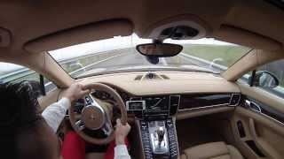 Download Porsche Panamera Turbo 317km/h on Kosovo highway Video