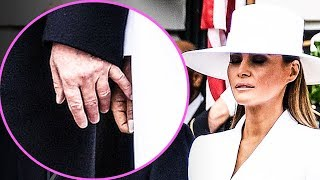 Download CRINGE: Melania Repeatedly Rejects Holding Trump's Hand Video
