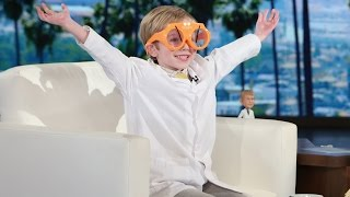 Download Ellen Meets a 6-Year-Old Science Podcaster Video
