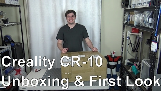 Download Creality - CR-10 - Unboxing & First Look Video