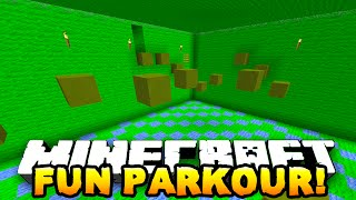 Download Minecraft FUN PARKOUR! (Fun Parkour Map) w/PrestonPlayz & Lachlan Video