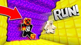 Download Minecraft RUN FROM THE PURPLE LAVA! (Minecraft SUPER LAVA RUN) Video