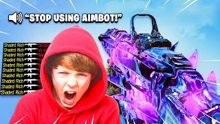 Download ANGRY TRASH TALKING KID WANTED A 1V1 MATCH on Black Ops 4...(AIMBOT RAGE!) Video