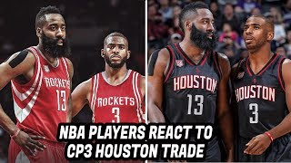 Download NBA Players REACT to Chris Paul Trade to Houston Rockets! Video