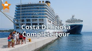 Download Costa Deliziosa Complete Visit Tour QHD 2017 @CruisesandTravelsBlog Video