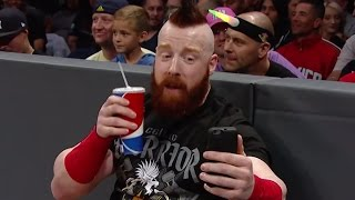 Download Watch what went down on and off the air as Sheamus was #NotWatchingCesaro on Facebook Live at Raw! Video