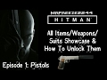 Download HITMAN Inventory Showcase Episode 1 - Pistols Video
