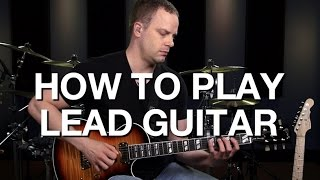 Download Learn How To Play Lead Guitar - Lead Guitar Lesson #1 Video