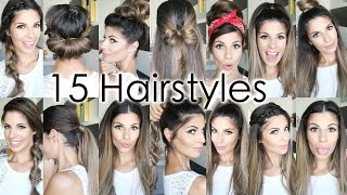 Download 15 Back To School Heatless Hairstyles Video