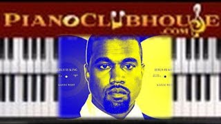 Download KANYE WEST - Every Hour ** FULL TUTORIAL** (easy gospel free tutorial lesson) Video