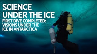 Download First dive completed: Check out what it looks like under the ice in Antarctica Video