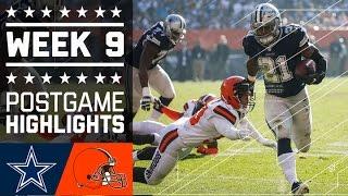 Download Cowboys vs. Browns | NFL Week 9 Game Highlights Video