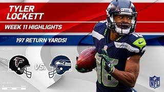 Download Tyler Lockett Explodes for 197 Return Yards vs. Atlanta! | Falcons vs. Seahawks | Wk 11 Player HLs Video