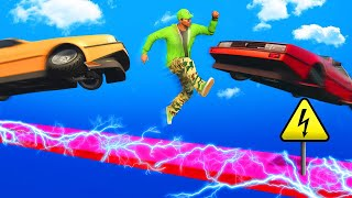 Download EXTREME MILE HIGH ELECTRIC DEATHRUN! (GTA 5 Funny Moments) Video