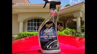 Download Meguiars NXT Insane Shine Tire Spray Review on my Nissan GTR Video