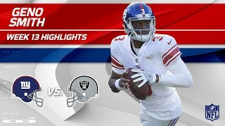 Download Geno Smith Highlights | Giants vs. Raiders | Wk 13 Player Highlights Video