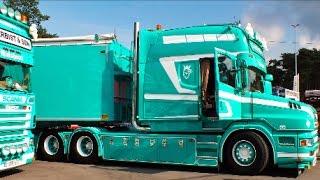 Download Scania T530 V8 Longline - C.VERBIST & SON Video