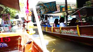 Download Bangkok Floating Market 4K Video with Sony RX10 IV Video