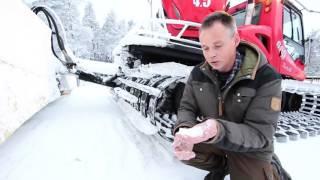 Download En lektion i pistning med Järvsöbackens pistmaskinförare Video