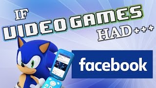 Download IF VIDEO GAMES HAD FACEBOOK Video