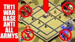 Download TH11 ANTI ALL ARMY'S ??? | TH11 WAR BASE ANTI 2 STAR + REPLAYS | Video