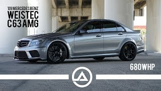 Download Euro Muscle | Agro AMG Weistec Built C63 | 680 wheel hp Video