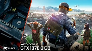 Download Watch Dogs 2 + GTX 1070 8 GB - 1080p - FRAME-RATE TESTE Video