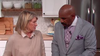 Download Martha Stewart: You just do what you want on my show! || STEVE HARVEY Video