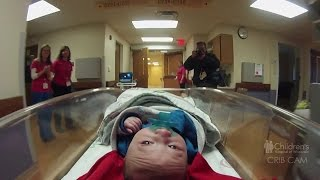 Download Watch baby John move into new NICU at Children's Hospital of Wisconsin Video