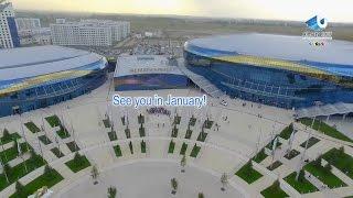 Download Almaty Arena - 28th Winter Universiade, Almaty, Kazakhstan Video