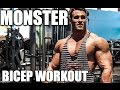 Download Calum Von Mogers Monster Bicep Workout + Training Secrets Video