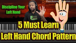 Download #98: 5 Must Learn Left-Hand Chord Patterns Video