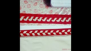 Download Two different types of Salwars pouncha design stitching. Video