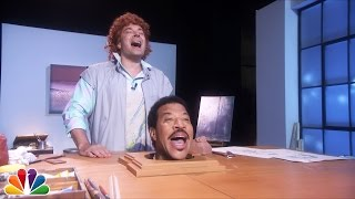 Download Jimmy Fallon Sings ″Hello″ with Lionel Richie's Head Video