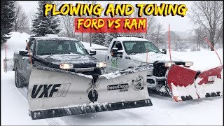 Download The best truck for snow plowing - Dodge Ram 2500 vs Ford F-250 Video